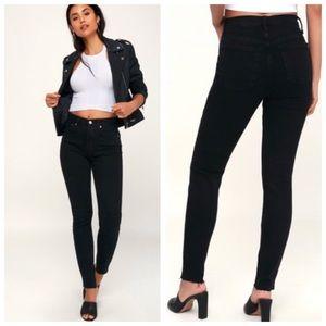 NWOT Free People High Waisted Skinny Jean